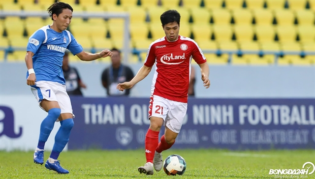 Striker Phượng shines to help HCM City FC beat Quảng Ninh