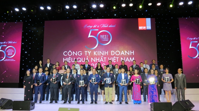 PNJ ranked among Việt Nams 50 best-performing companies