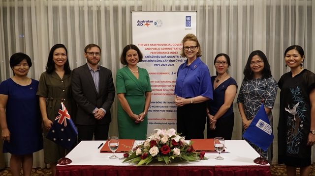 Australia and UNDP renew partnership on PAPI programme
