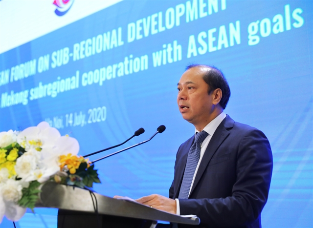 Mekong sub-regional co-operation must converge with ASEAN goals: official