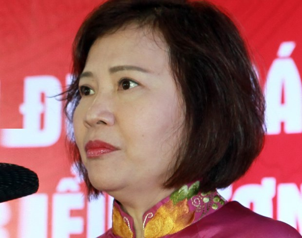 Former deputy minister of Industry and Trade Hồ Thị Kim Thoa wanted for state assets mismanagement