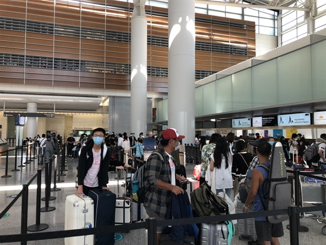 Elderly passenger dies on repatriation flight from the US