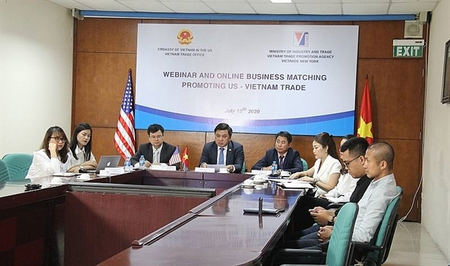 VN US firms join hands to curb pandemic toll and seek business opportunities