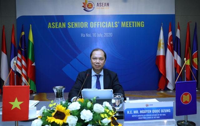 ASEAN SOM reviews COVID-19 response and ASEAN Community