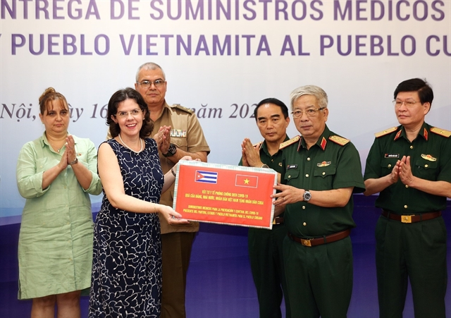 Việt Nams Defence Ministry donates medical supplies to help Cuba combat COVID-19