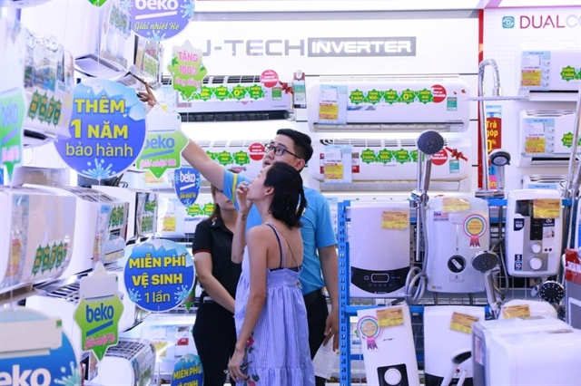 Sales of household appliances soar during National Sales Promotion Month