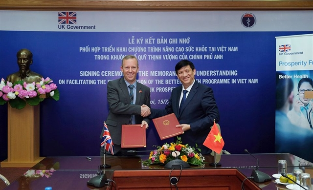 Việt Nam UK boost health cooperation