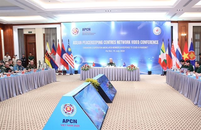 ASEAN peacekeeping centres look to boost ties in COVID-19 response