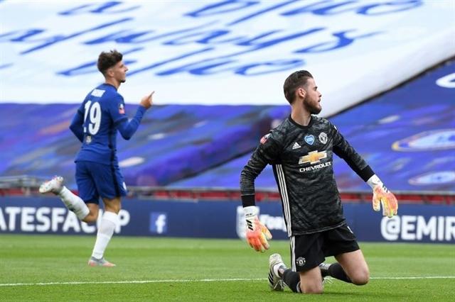 De Gea blunders put Chelsea in FA Cup final