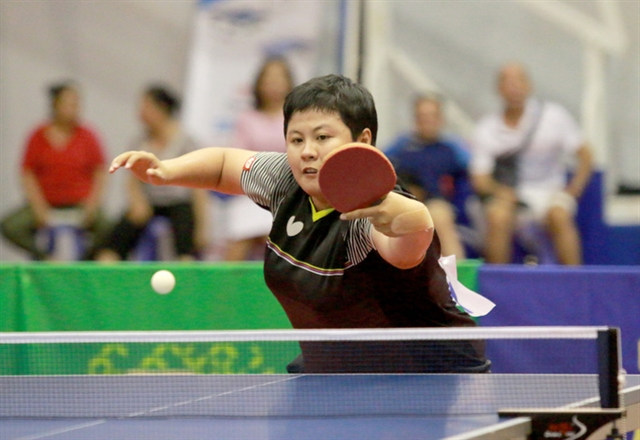 Trang wins national table tennis champs