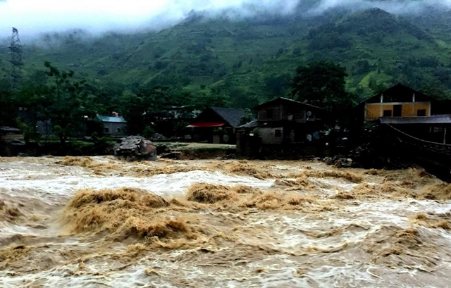 Flood and landslide alerts for northern mountainous provinces