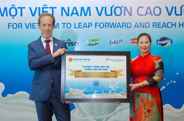 FrieslandCampina begins 5-year programme to improve health stature of children