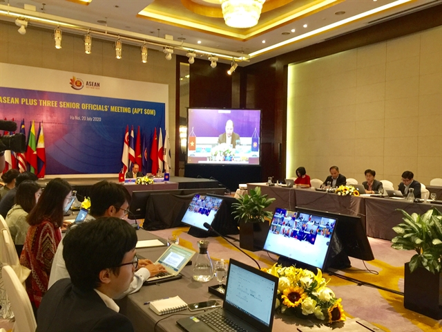ASEAN3 discusses COVID-19 response plans