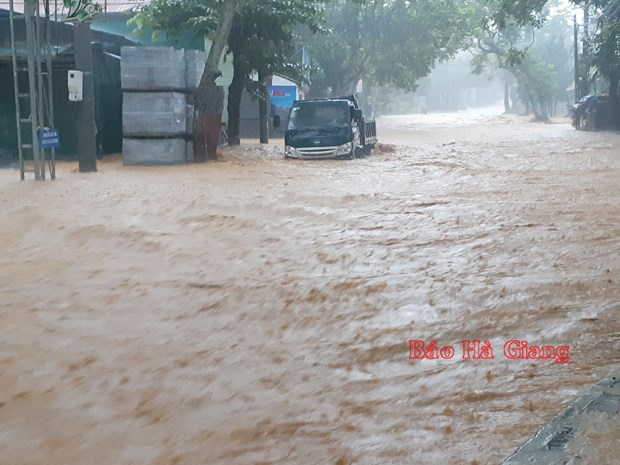 Three die in Hà Giang heavy rain