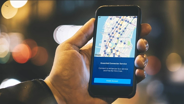 Vietnamese-made app approved for New York commuters