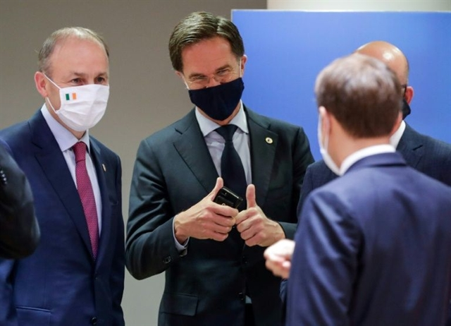 EU agrees landmark 750-bn-euro virus Marshall Plan