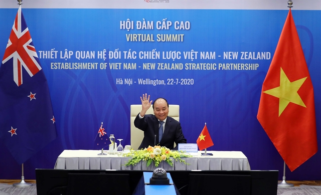 VN New Zealand lift bilateral ties to strategic partnership