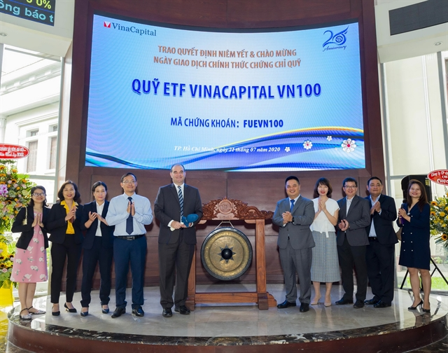 VinaCapital launches ETF to track VN100 Index
