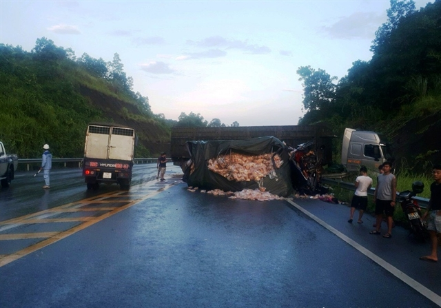Two die in traffic accident