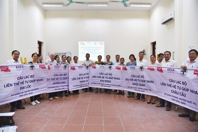HelpAge International in Việt Nam wins the first HAPIs grand prize
