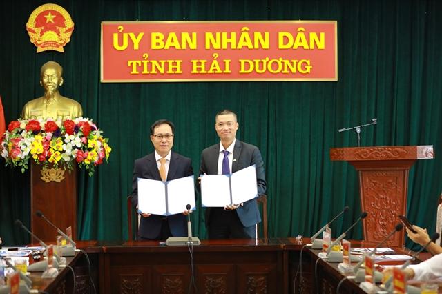 Samsung and Hải Dương Province launchenterpriseimprovement consultancy project