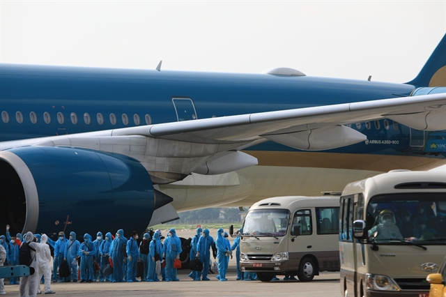 Vietnam Airlines flight carries stranded citizens in Equatorial Guinea home