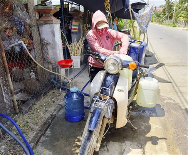 Bình Định households face water shortage