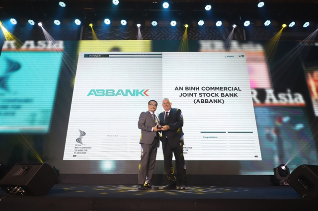 ABBANK receives 'Best companies to work for in Asia award