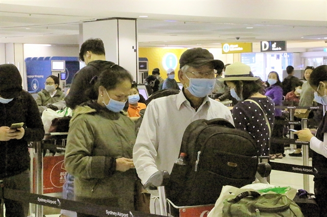 Over 350 Vietnamese citizens repatriated from Australia New Zealand