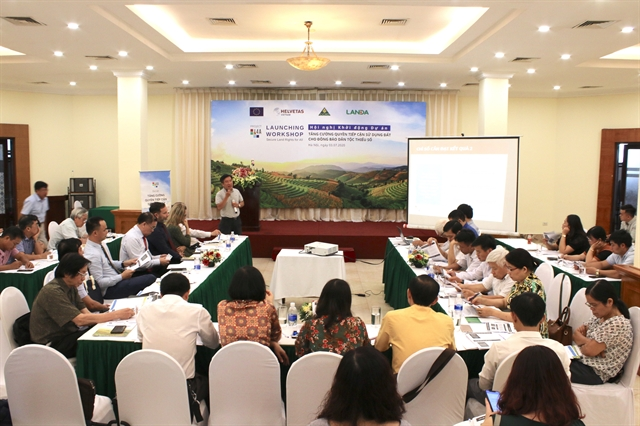 Joint effort to secure land use rights of ethnic minorities