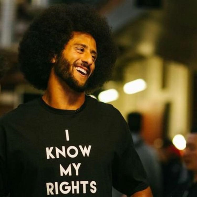 Kaepernick teams with Disney for racial injustice programmes
