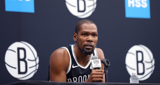 NBA star Durant rules himself out for rest of season