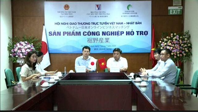 First Việt Nam-Japan teleconference on support industries opens