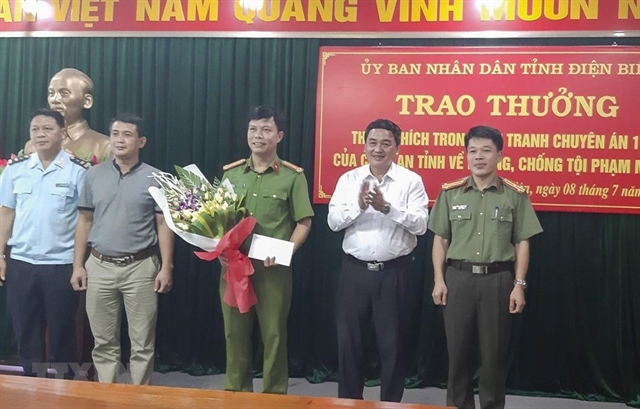 Heroin traffickers busted in Điện Biên