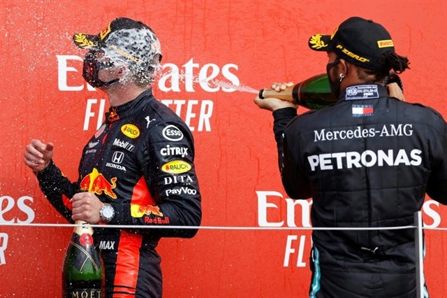 Verstappen claims 70th Anniversary GP win as sleeping Mercedes wilt