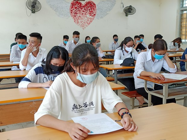 First phase of national high school exam successfully wraps up