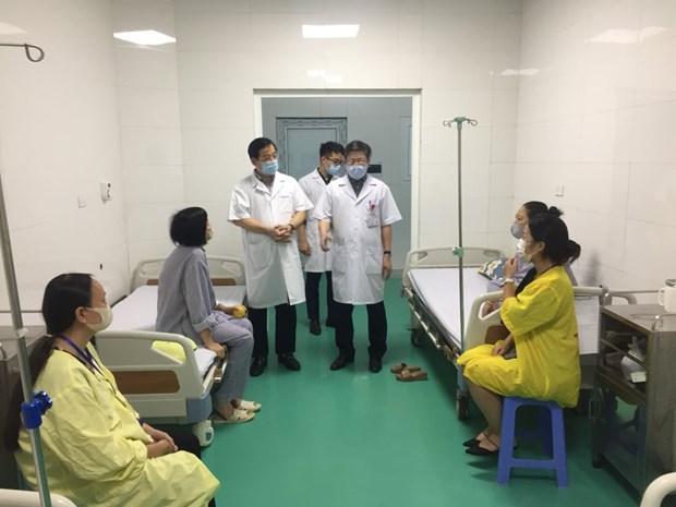 MoH checks COVID-19 measures atthree HàNộihospitals