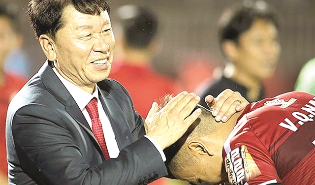 Coach Chung back to lead HCM City FC