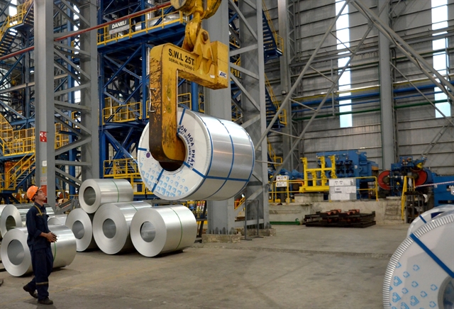 Hòa Phát steel pipe export posted 16% increase