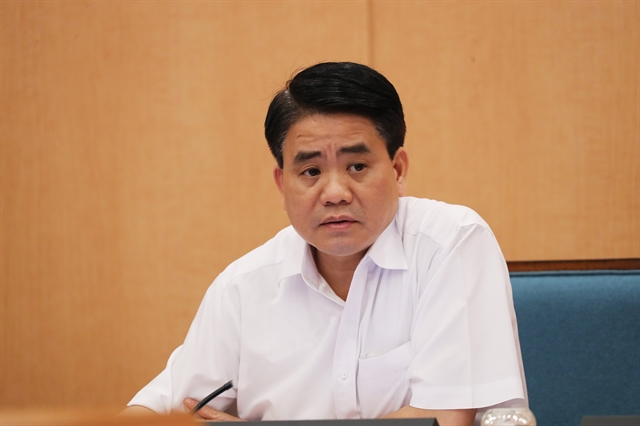Hà Nội leader under investigation suspended from duties for 90 days