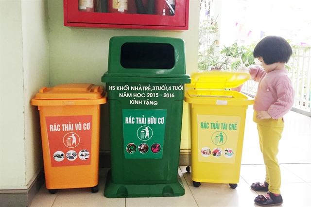 Revised environmental protection highlights recycling: NA