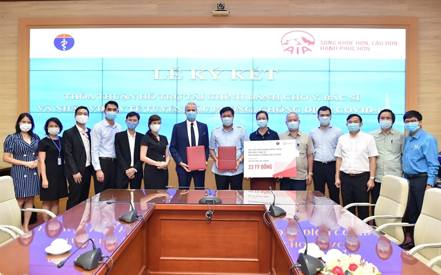 AIA Vietnam extends and expands financial assistance programme for doctors and medical employees participating in COVID-19 prevention