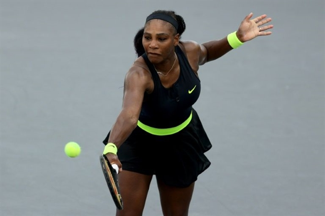 Serena rallies past Venus builds confidence for US Open