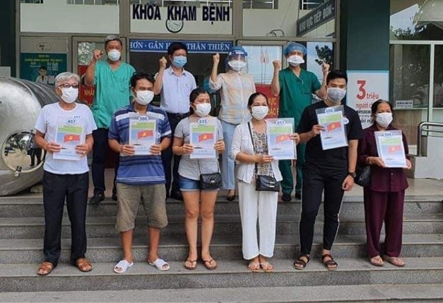 Twenty-nine more COVID-19 patients recover