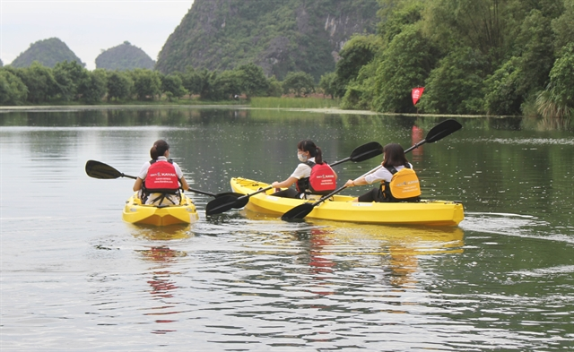Kayak tours on offer at Tràng An Scenic Landscape Complex