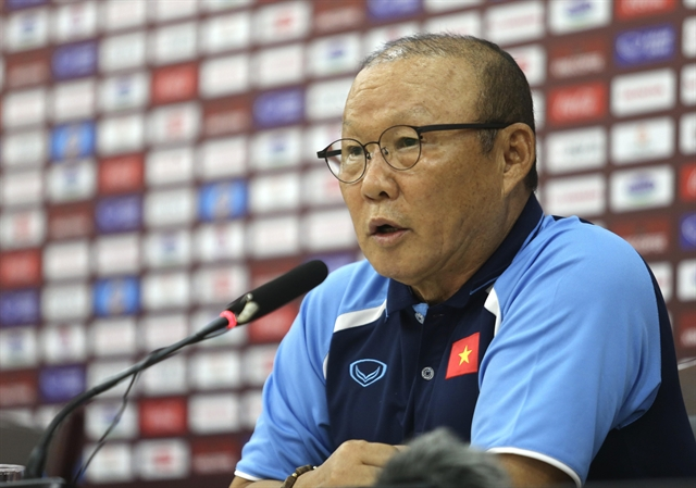 VN to focus on World Cup qualifiers: coach Park