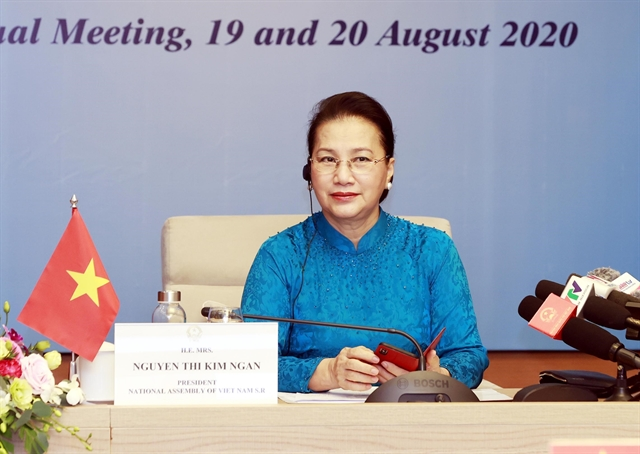 NA Chairwoman Nguyễn Thị Kim Ngân attends fifth World Conference of Speakers of Parliament
