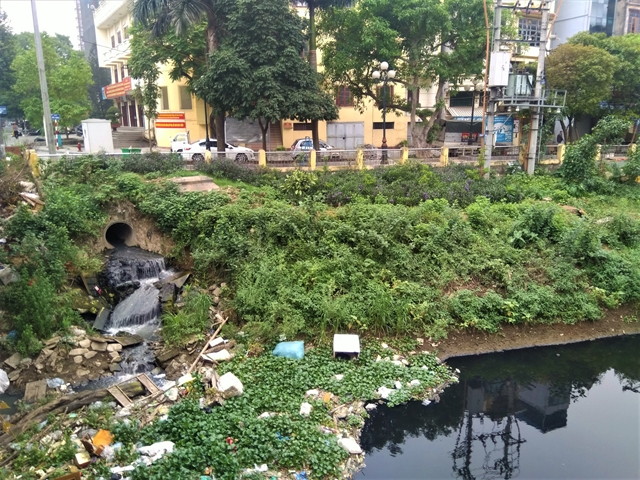 Hà Nội river water remains polluted