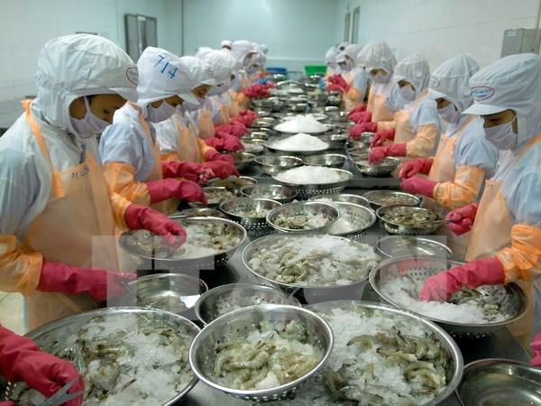 Việt Nam shrimp exports to South Korea to edge up: VASEP
