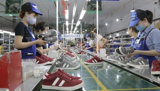 Footwear exports fell in many markets